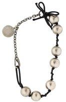 Stella McCartney Asymmetrical Beaded Necklace