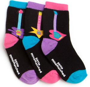 LittleMissMatched Glam Rock Toddler Socks