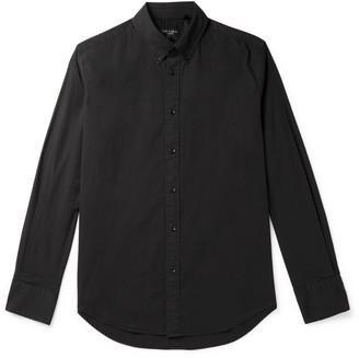 Rag & Bone Tomlin Fit 2 Slim-Fit Button-Down Collar Stretch-Cotton Poplin Shirt - Men - Black