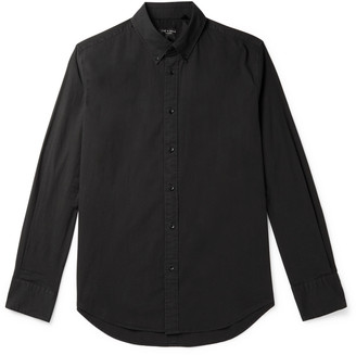 Rag & Bone Tomlin Fit 2 Slim-Fit Button-Down Collar Stretch-Cotton Poplin Shirt