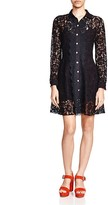 The Kooples Lace Shirt Dress