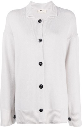 Sminfinity Longline Button-Front Cardigan