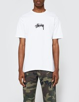 Stussy Stock Tee in White