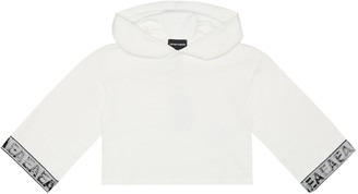 Emporio Armani Kids Cotton hoodie