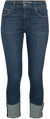Joe's Jeans Brussels Mid-Rise Cropped Skinny Jeans