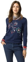 Tommy Hilfiger Embroidered Wool Sweater