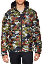 Scotch & Soda Quilted Print Jacket