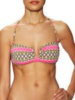 Frankie's Bikinis Frankie's Bikini's Women's Willow V-Wire Bandeau Bikini Top