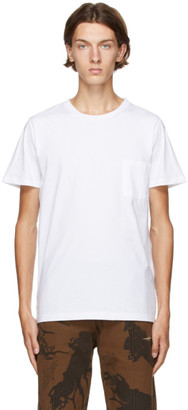 Levis Made and Crafted White Pocket T-Shirt