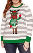 TIARA INTERNATIONAL Tiara International Christmas Sweater - Plus