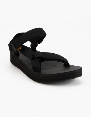 Teva Midform Universal Womens Black Sandals