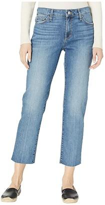 Joe's Jeans Scout Cut Hem Jeans in Geranium (Geranium) Women's Jeans