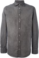 Massimo Alba crinkle shirt - men - Cotton - XL