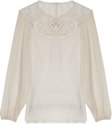 Temperley London Exclusive Maxime Ls Blouse