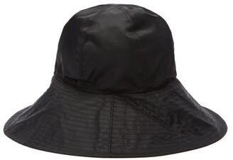 Reinhard Plank Hats - Paz Wide-brim Bucket Hat - Black