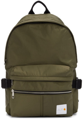 A.P.C. Khaki Carhartt WIP Edition Backpack
