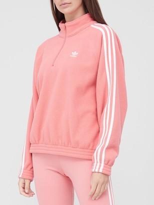 adidas Half Zip Fleece - Pink