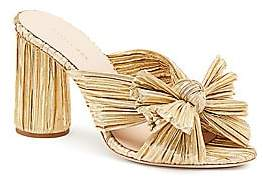 Loeffler Randall Women's Penny Pleated Knotted High Heel Sandals