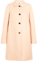 Jil Sander Cotton-twill Coat - Pastel pink