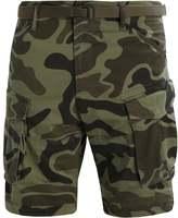 Gstar Rovic Belt Camo Loose 1/2 3d Shorts Sage