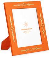 """Jonathan Adler Turner Lacquer Frame, Orange, 8"""" x 10"""""""