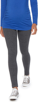 Motherhood Secret Fit Belly Heathered Maternity Leggings