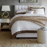Williams-Sonoma Williams Sonoma Chambers Washed-Linen Border Bedding, Sale