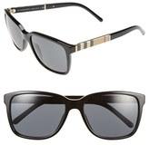 Burberry Women's 58Mm Sunglasses - Black