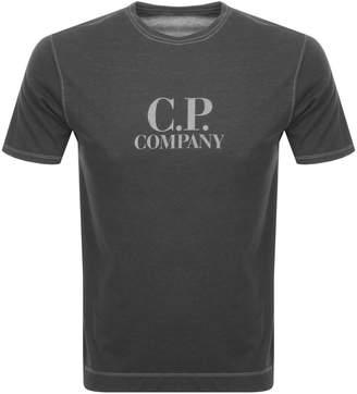 C.P. Company C P Company Logo T Shirt Grey