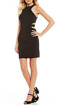GB Social Cutout Little Black Dress