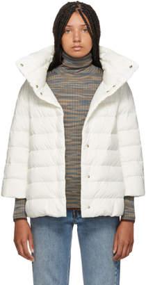 Herno White Down Aminta Jacket