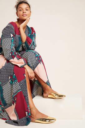 Anthropologie Jaya Ankle-Tie Flats