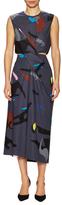 Jil Sander Printed Midi Dress