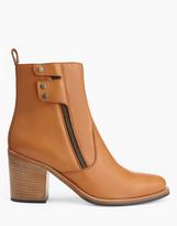 Belstaff Dursley Heeled Boots Tan