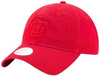 New Era Women's Red St. Louis Cardinals Core Classic Tonal Team 9TWENTY Adjustable Hat