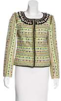 Matthew Williamson Embellished Tweed Jacket w/ Tags