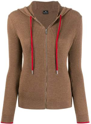 Paul Smith hooded zip-through sweater