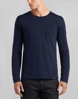 Belstaff Turner T-Shirt Ls Navy