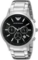 Giorgio Armani Emporio Classic AR2434 Men's Stainless Steel Chronograph Watch