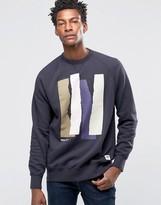 Wood Wood Hester Sweatshirt Rip W Logo