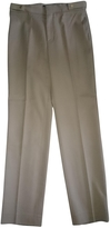 Gucci Camel Wool Trousers
