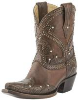 Lucchese Tooled Petal Boots