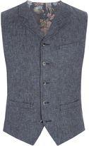Gibson Men's Denim Look Twill Vest