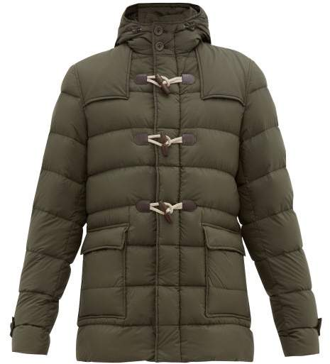 best service b2227 03fec Il Montgomery Quilted Down Jacket - Mens - Green