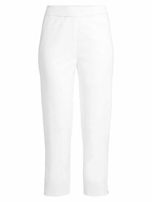 Misook Cropped Knit Trousers