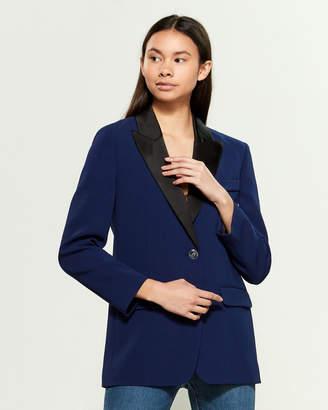 Moschino Color Block Long Sleeve Jacket