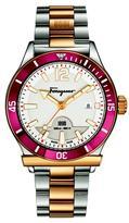 Salvatore Ferragamo 1898 Sport FF3140014 Men's Two-Tone Stainless Steel Watch