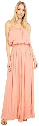 Rip Curl Sunset Glow Maxi (Peach) Women's Clothing