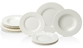 Villeroy & Boch Cellini 12-Piece Dinnerware Set