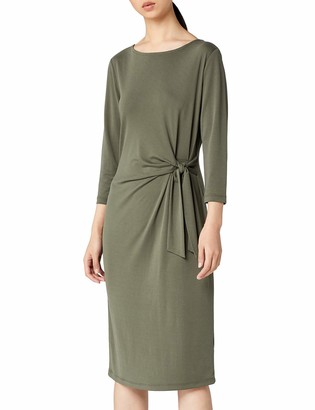 Meraki Women's Twist Midi Dress